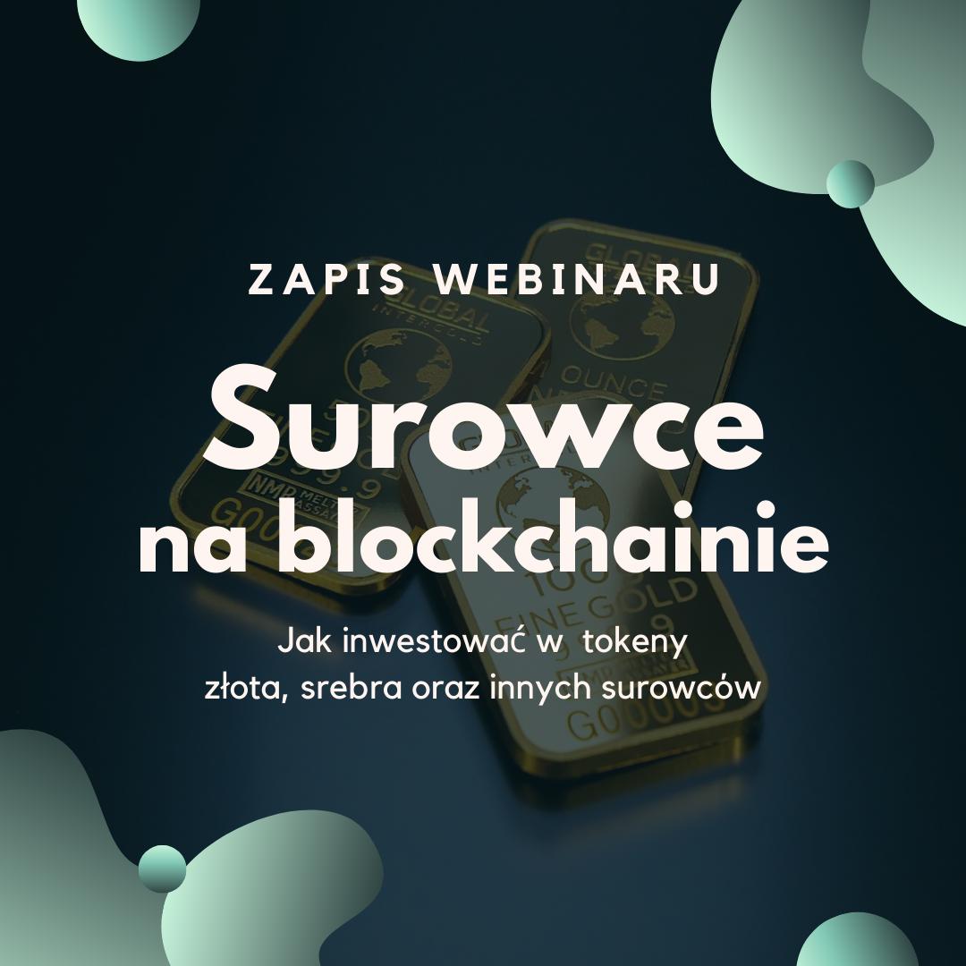 Surowce na blockchainie