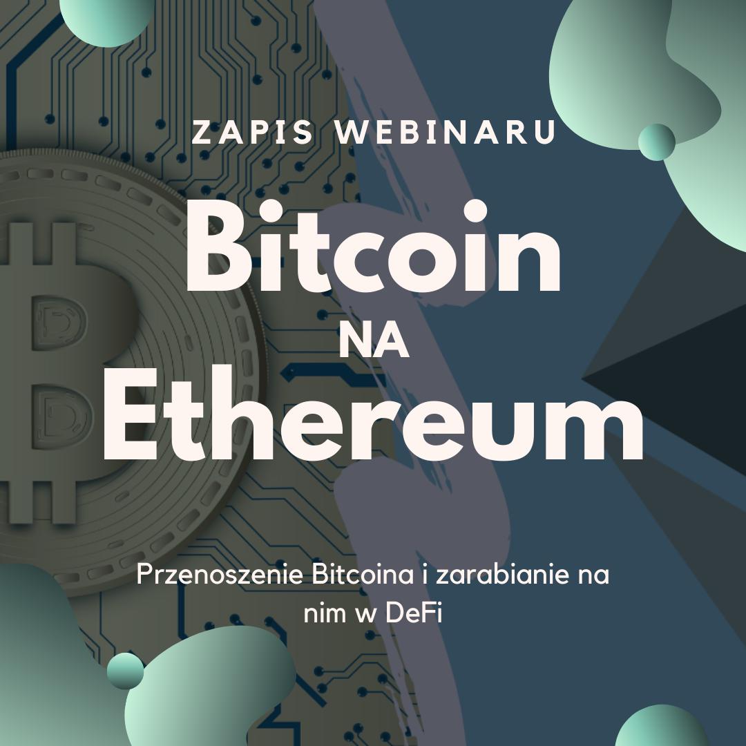Bitcoin na Ethereum