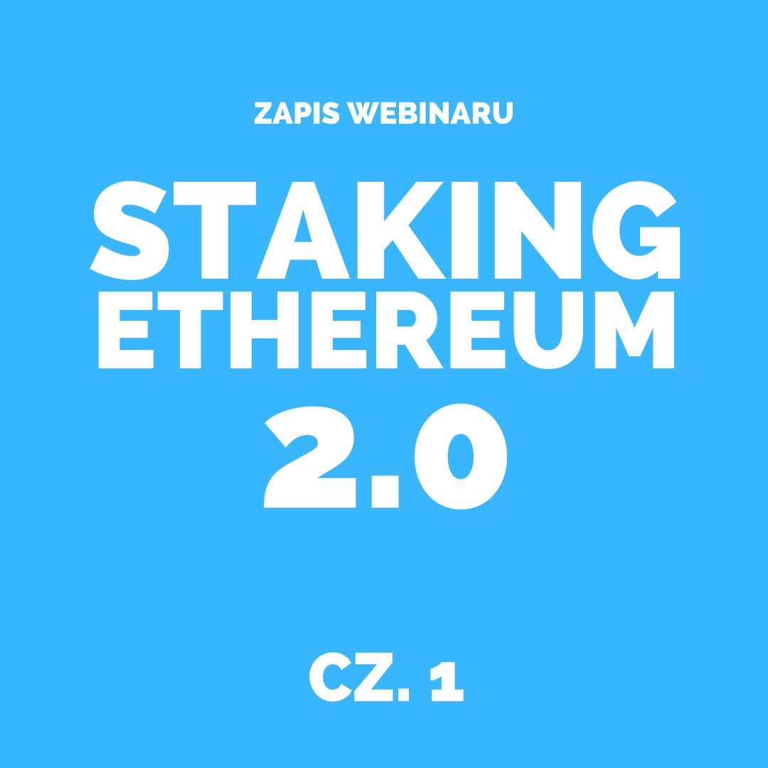 Staking ETH 2.0 część 1